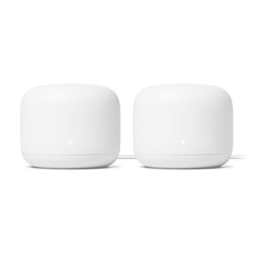 Google Nest Wifi - Home Wi-Fi System - Wi-Fi Extender - Mesh Router for Wireless Internet...