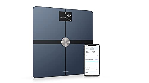 Withings Body+ - Digital Wi-Fi Smart Scale with Automatic Smartphone App Sync, Full Body...