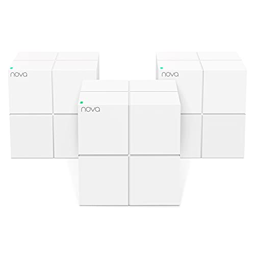 Tenda Nova Mesh WiFi System (MW6)-Up to 6000 sq.ft. Whole Home Coverage, WiFi Router and...