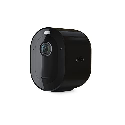 Arlo Pro 4 Spotlight Camera - 1 Pack - Wireless Security, 2K Video & HDR, Color Night...