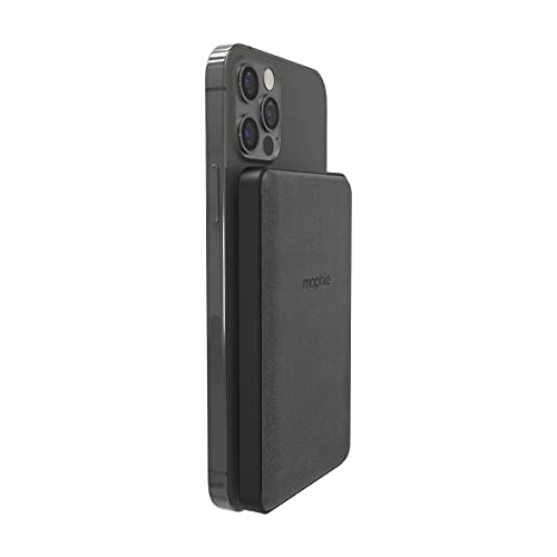 mophie snap+ Juice Pack Mini - Magnetic and Portable Wireless Charger containing a...