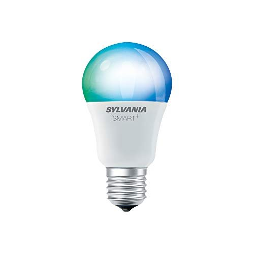 SYLVANIA General Lighting A19 LED Bulb, Works with Apple HomeKit and Siri Voice Control,...