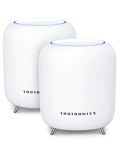 TaoTronics Mesh WiFi System, Tri-Band AC3000 3Gbps Speed 5,000 Sq. Ft Coverage Whole Home...