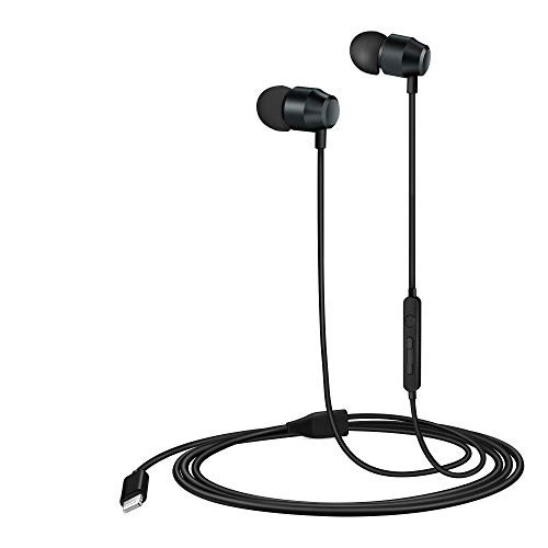PALOVUE Lightning Headphones Earphones Earbuds in-Ear Magnetic MFi Certified with...