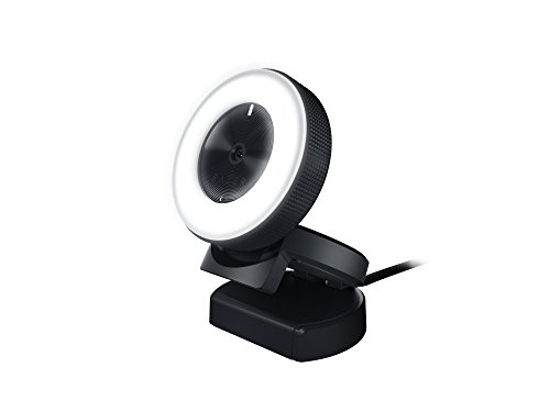 Razer Kiyo Streaming Webcam: 1080p 30 FPS / 720p 60 FPS - Ring Light w/ Adjustable...