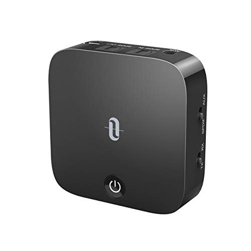 TaoTronics Bluetooth 5.0 Transmitter and Receiver, Digital Optical TOSLINK and 3.5mm...