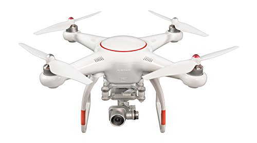VOOCO X-Star Premium Drone with 4K Camera, 1.2-mile HD Live View & Hard Case (White)