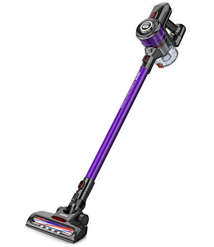 Cordless Vacuum, ONSON Cordless Stick Vacuum Cleaner, 20KPa Powerful Cleaning Lightweight...