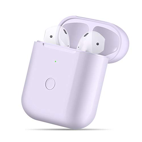 Wireless Charging Case Compatible with AirPods 1 2,Air pods Charger Case Replacement...