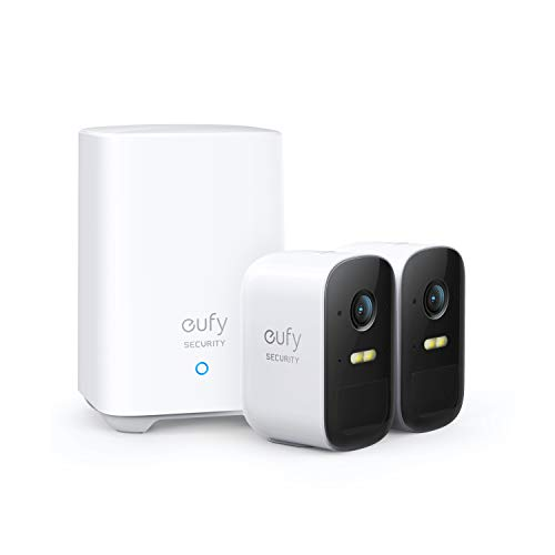 eufy Security, eufyCam 2C 2-Cam Kit, Wireless Home Security System with 180-Day Battery...
