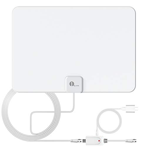 Indoor TV Antenna, Amplified Digital HDTV Antenna - HD Antenna with Amplifier...