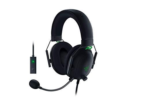Razer BlackShark V2 Gaming Headset: THX 7.1 Spatial Surround Sound - 50mm Drivers -...