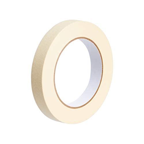 Amazon Basics Masking Tape - 0.7 Inch x 180 Feet - 3 Rolls
