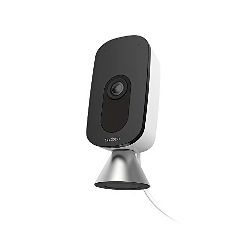 ecobee SmartCamera – Indoor WiFi Security Camera, Baby & Pet Monitor, Smart Home...