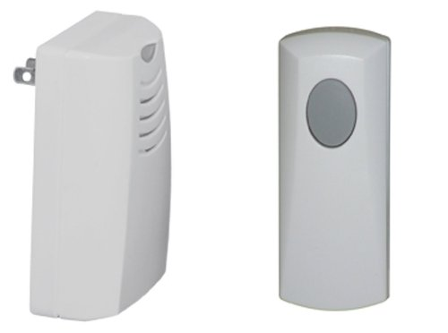 Honeywell Home RCWL105A1003/N Plug-in Wireless Doorbell / Door Chime and Push Button