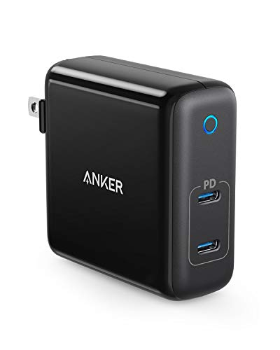 Anker 60W 2-Port USB C Charger, PowerPort Atom PD 2 [GAN Tech] Compact Foldable Wall...