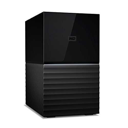 WD 8TB My Book Duo Desktop RAID External Hard Drive, USB 3.1 - WDBFBE0080JBK-NESN