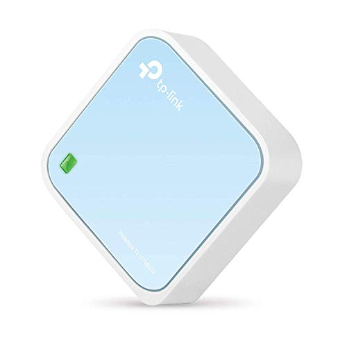 TP-Link N300 Wireless Portable Nano Travel Router(TL-WR802N) - WiFi Bridge/Range...