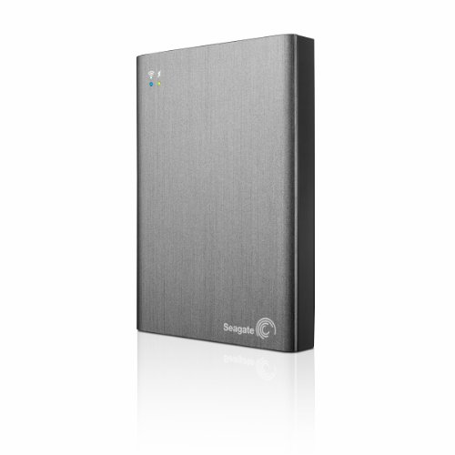 Seagate Wireless Plus 2TB Portable Hard Drive with Built-in WiFi (STCV2000100)