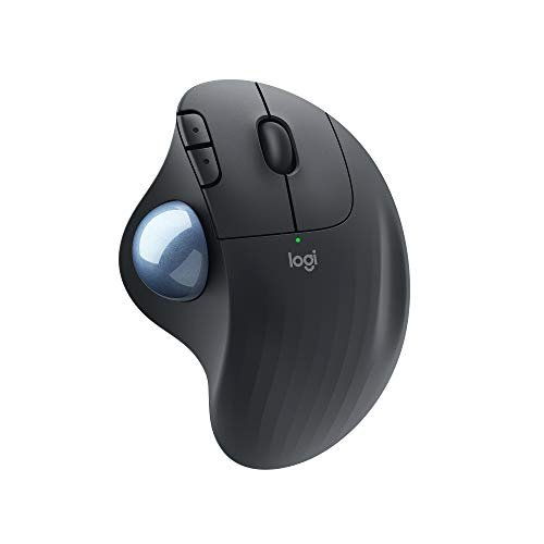 Logitech ERGO M575 Wireless Trackball Mouse, Easy thumb control, Precision and smooth...