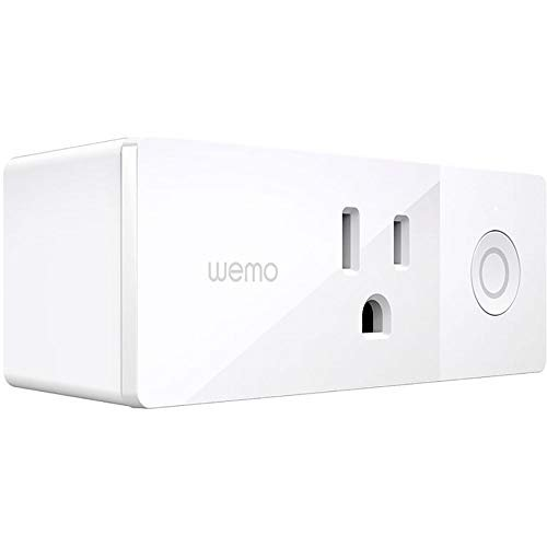 Wemo Mini Smart Plug, WiFi Enabled, Works with Alexa, Google Assistant & Apple...
