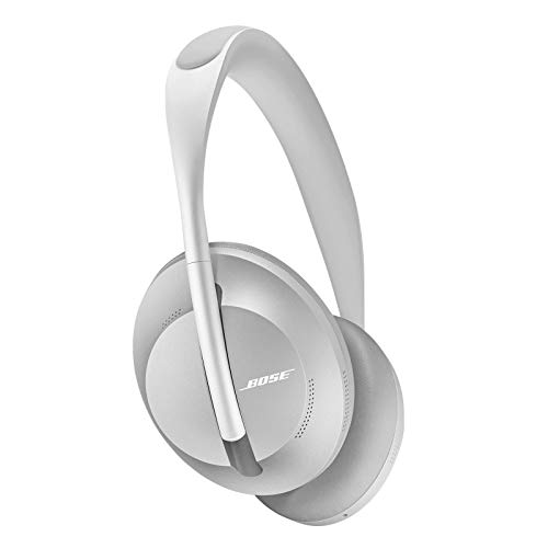 Bose Noise Cancelling Wireless Bluetooth Headphones 700, with Alexa Voice Control, Silver...