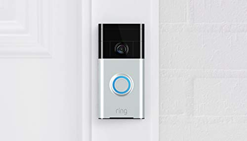 Ring Video Doorbell (1st Gen) – 720p HD video, motion activated alerts, easy...