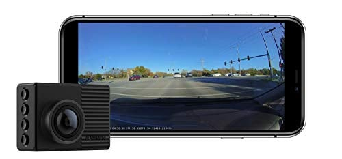 Garmin Dash Cam 66W, Extra-Wide 180-Degree Field of View In 1440P HD, 2' LCD Screen and...