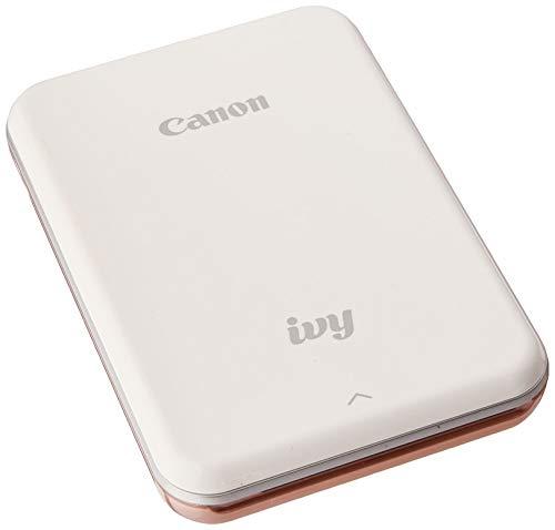 Canon IVY Mobile Mini Photo Printer through Bluetooth(R), Rose Gold