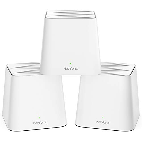 Meshforce M1 Whole Home Mesh WiFi System (3 Pack) – 2020 Upgraded WiFi Performance...