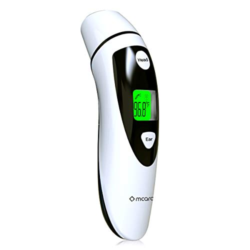 Medical Forehead and Ear Thermometer for Baby, Kids and Adults - Infrared Digital...