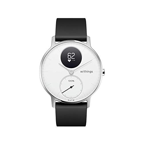 Withings Steel HR Hybrid Smartwatch - Activity, Sleep, Fitness and Heart Rate Tracker with...