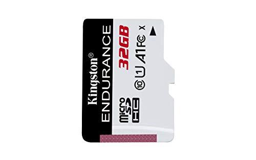 Kingston High Endurance 32GB MicroSD SDHC Flash Memory Card High Performance, 1080P, Full...
