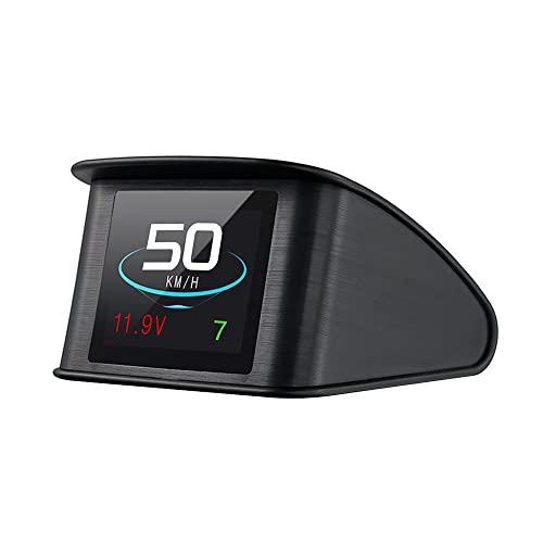 Lttrbx. T600 Universal Car HUD Head Up Display Digital GPS Speedometer with Speedup Test...