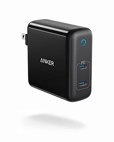 Anker 60W 2-Port USB C Charger, PowerPort Atom PD 2 [GAN Tech] Compact Foldable Wall...