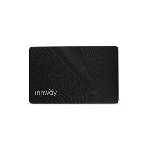 Innway Card - Ultra Thin Rechargeable Bluetooth Tracker Finder. Find Your Wallet, Bag,...