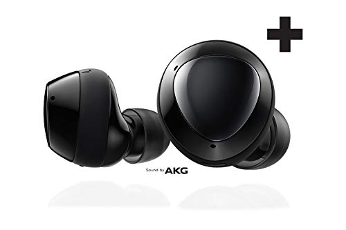Samsung Galaxy Buds+ Plus, True Wireless Earbuds (Wireless Charging Case included), Black...