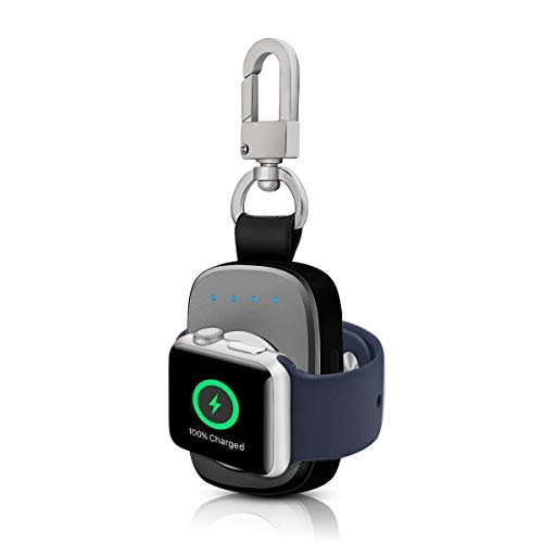 Keychain Shaped Apple Watch Charger with Power Bank