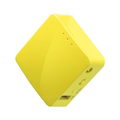 GL.iNET GL-MT300N-V2 Wireless Mini Portable Travel Router, Mobile Hotspot in Pocket, WiFi...