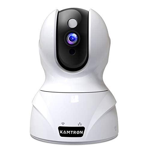 Security Camera 1536P Pet Camera - KAMTRON WiFi Wireless Home Camera Full HD 3MP IP Video...