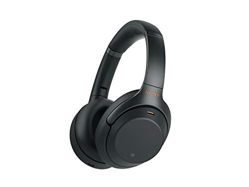Sony WH1000XM3 Noise Cancelling Headphones, Wireless Bluetooth Over the Ear Headset –...