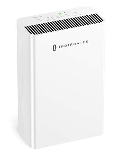 TaoTronics HEPA H13 Air Purifier for Home, Allergies Smoke Pollen Pets, Home Air Cleaner...