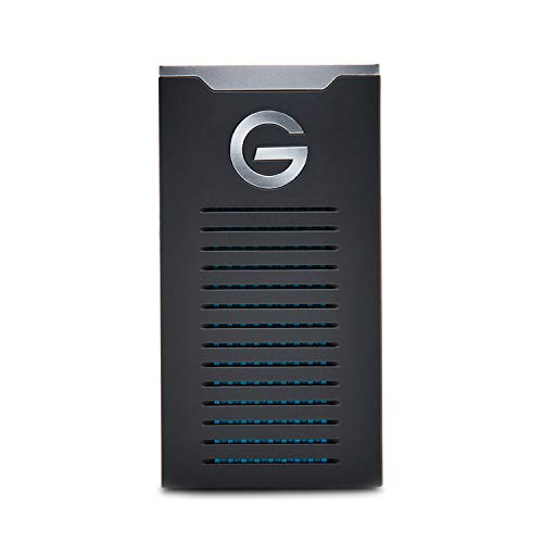 G-Technology 1TB G-DRIVE mobile SSD Durable Portable External Storage - USB-C (USB 3.1),...
