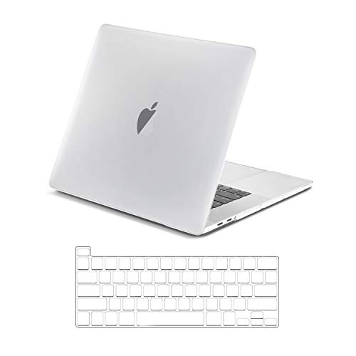 TOP CASE - 2 in 1 Signature Bundle for MacBook Pro 16 inch (2019 Release), Rubberized Hard...
