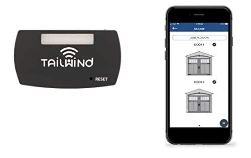 Tailwind iQ3 Premium Featured Smart WiFi Garage Door Opener - Internet Enabled Remote...