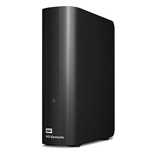 WD 12TB Elements Desktop Hard Drive HDD, USB 3.0, Compatible with PC, Mac, PS4 & Xbox -...
