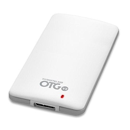 MyDigitalSSD 120GB (128GB) OTG V2 SuperSpeed USB 3.1 Gen 1 Portable SSD with UASP Support...