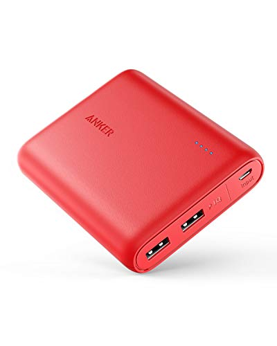Anker PowerCore 13000, Compact 13000mAh 2-Port Ultra-Portable Phone Charger Power Bank...