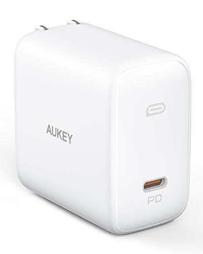 [Upgraded] MacBook Pro Charger 100W, AUKEY Omnia USB C Charger with GaNFast Technology, PD...