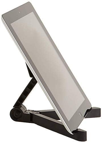 Amazon Basics Adjustable Tablet Holder Stand - Compatible with Apple iPad, Samsung Galaxy...